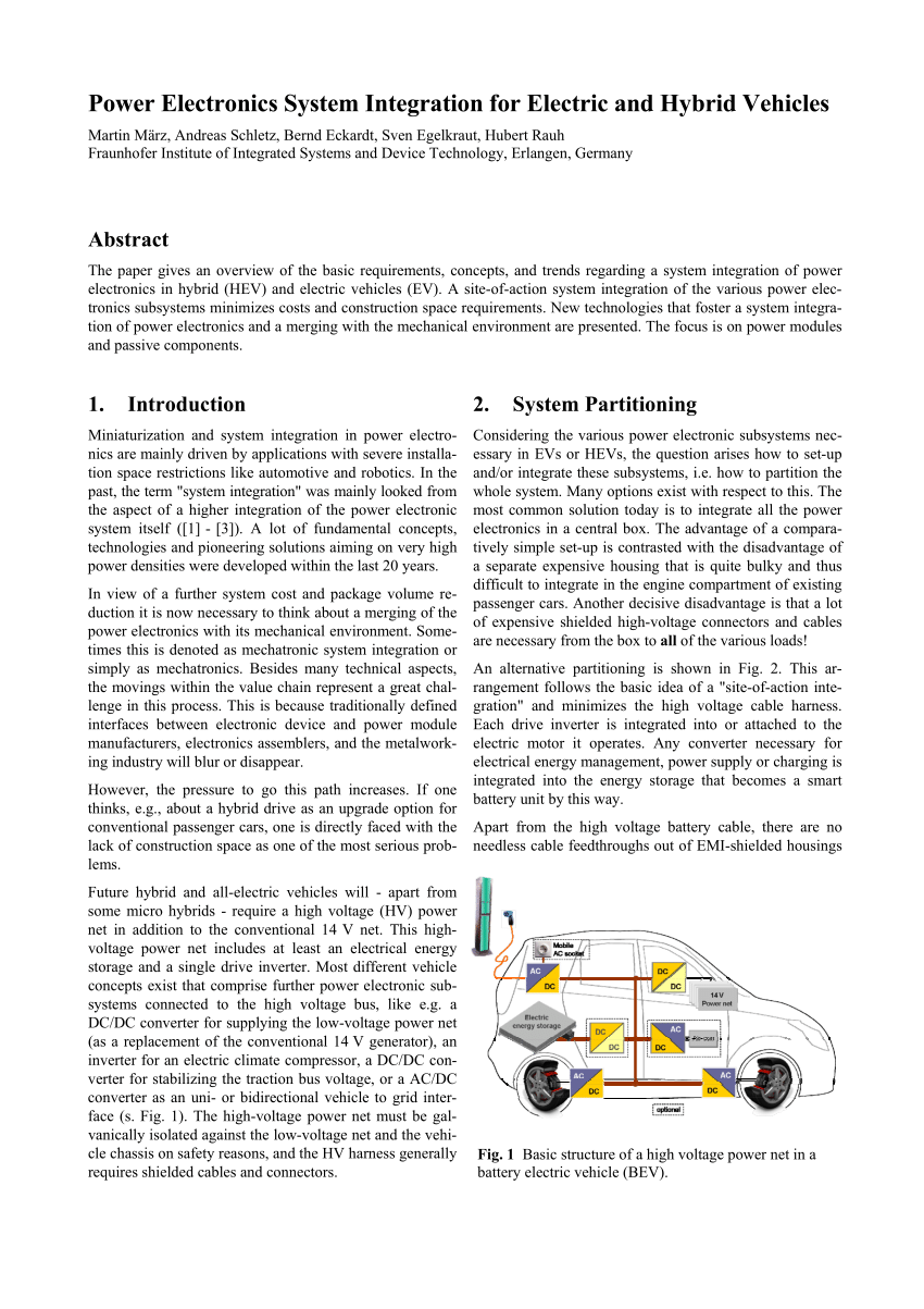 application of power electronics in power system pdf