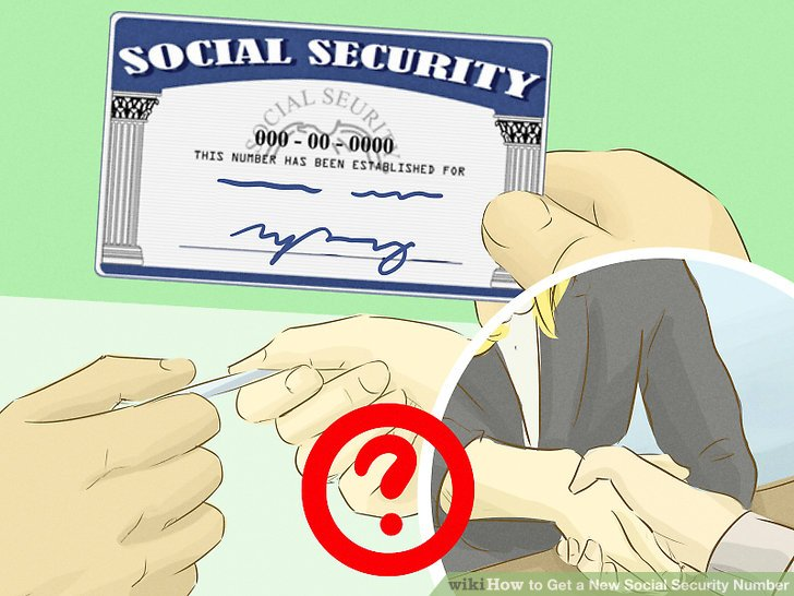 new social security number application