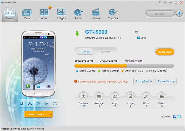 application android pour sauvegarder contacts