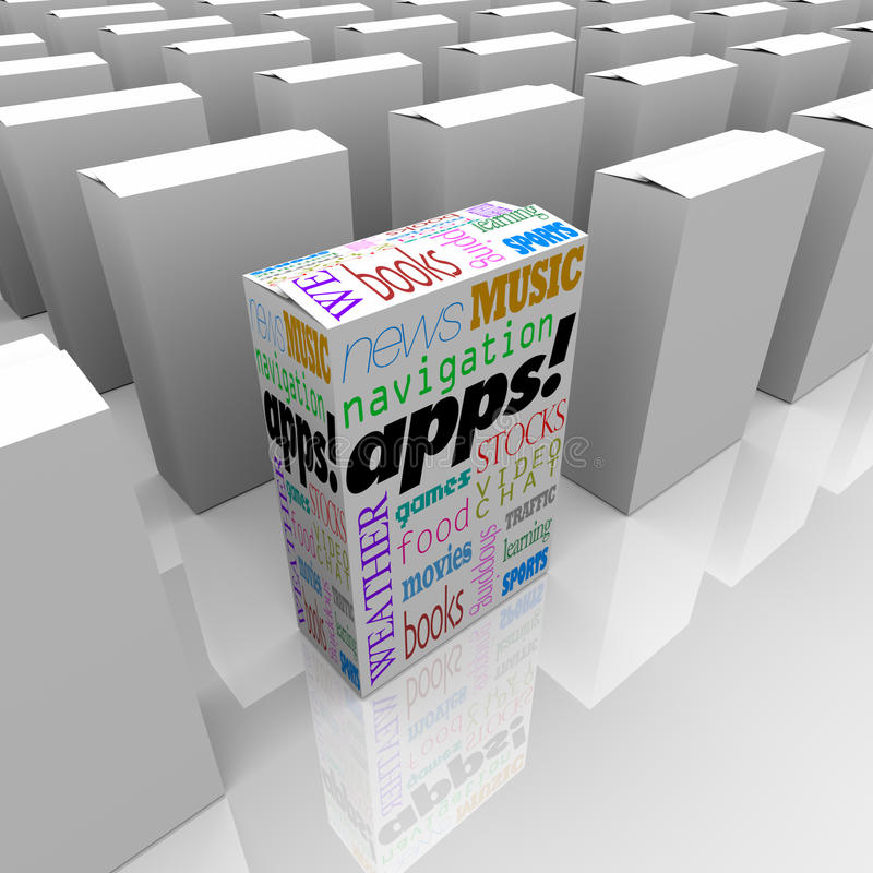 many types of application software