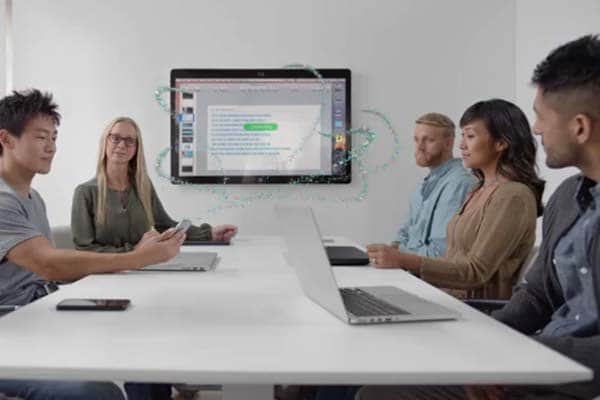 application video conference a plusieurs