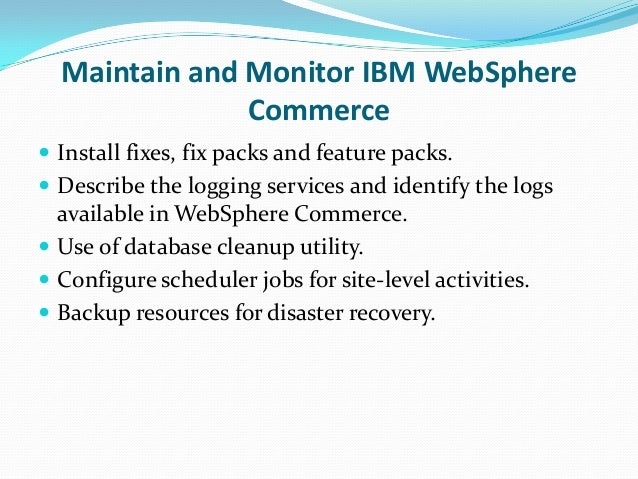 different types of logs in websphere application server