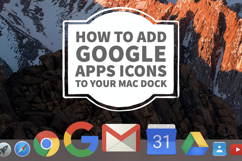 how to add application to dock