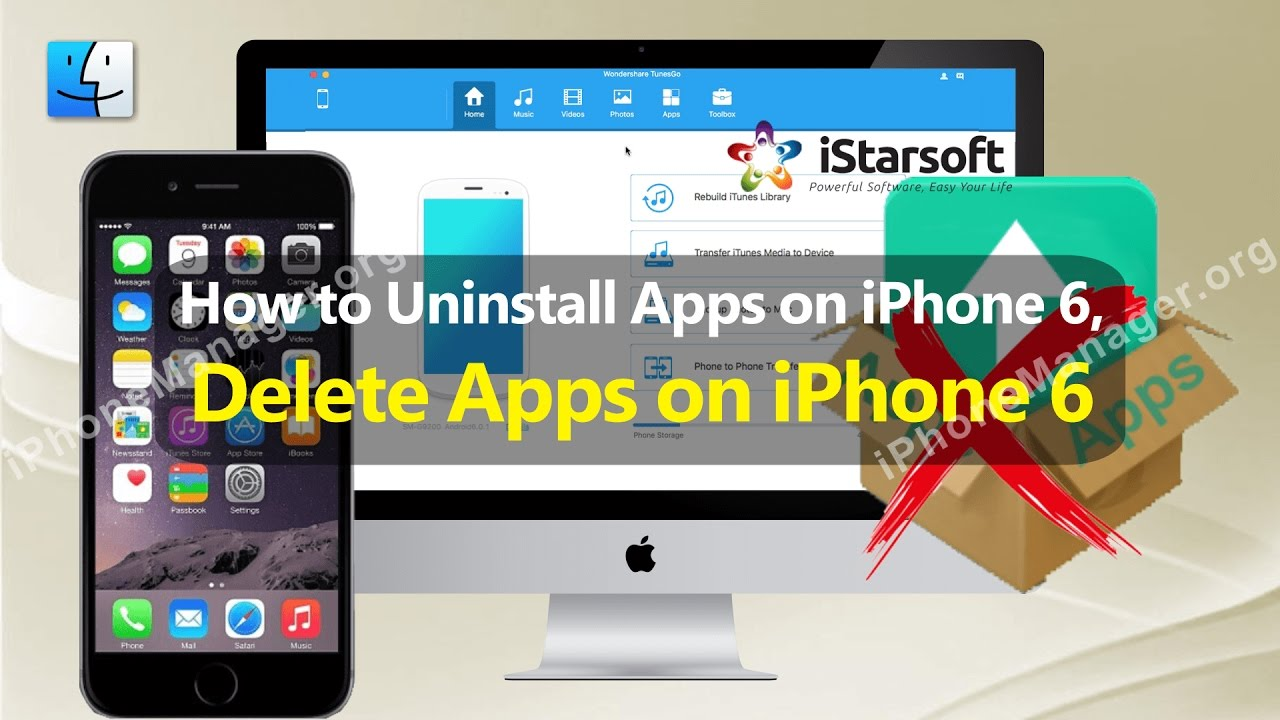 how to uninstall an application