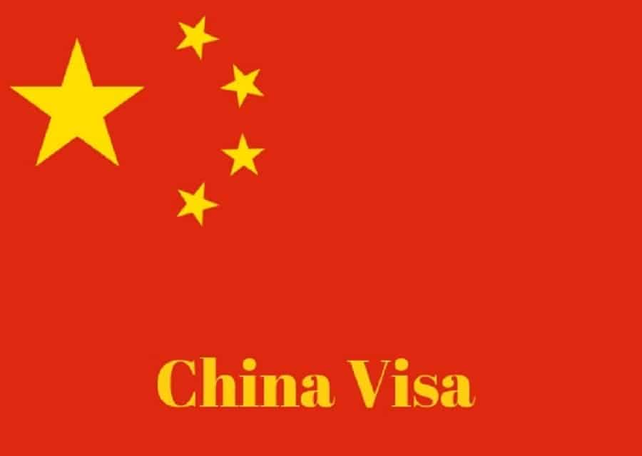 online appointment for chinese visa application